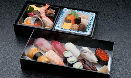 二段重寿司入り弁当